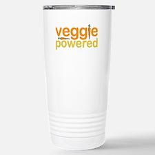 Veggie Powered Stainless Steel Travel Mug