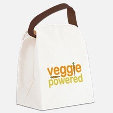 Veggie Powered Canvas Lunch Bag