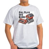 Muscle car Mens Light T-shirts