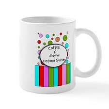 coffee airborne customer sputum.PNG Mug
