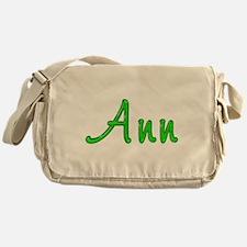 Ann Glitter Gel Messenger Bag