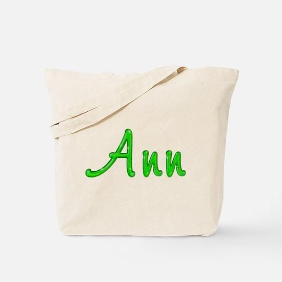 Ann Glitter Gel Tote Bag