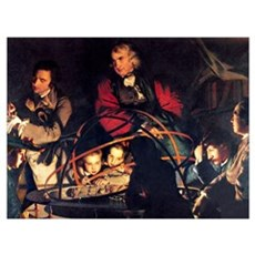 The Orrery by Joseph Wright Canvas Art