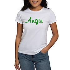 Angie Glitter Gel Tee