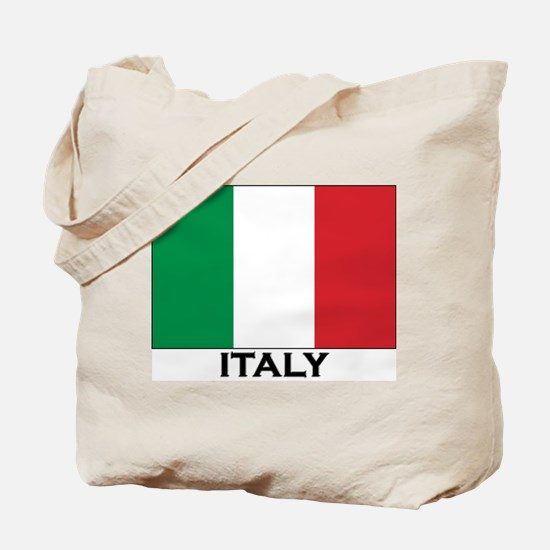 Italy Flag Stuff Tote Bag