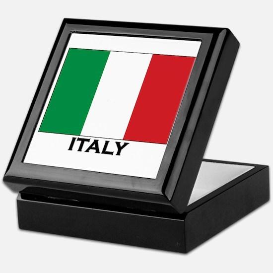 Italy Flag Stuff Keepsake Box