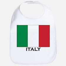 Italy Flag Stuff Bib