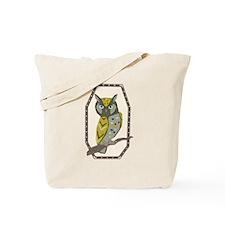 Scops Owl Tote Bag