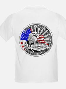 9 11 We Remember Kids T-Shirt