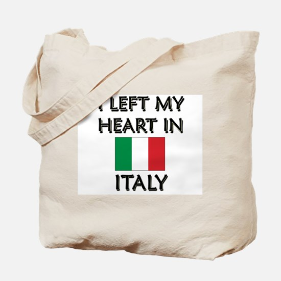 I Left My Heart In Italy Tote Bag