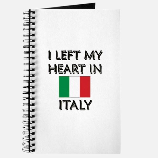 I Left My Heart In Italy Journal