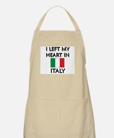 I Left My Heart In Italy BBQ Apron