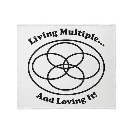 Living Multiple Loving It! Throw Blanket