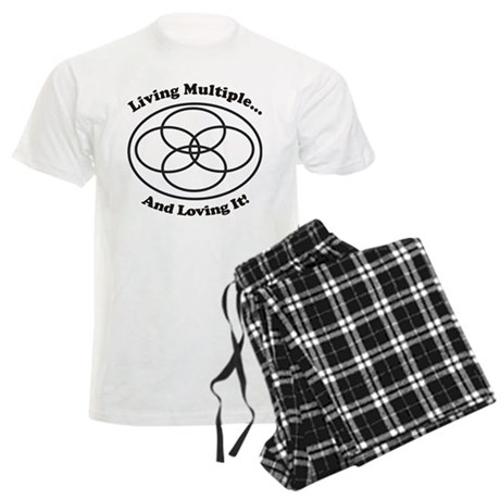Living Multiple Loving It! Men's Light Pajamas
