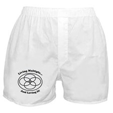 Living Multiple Loving It! Boxer Shorts