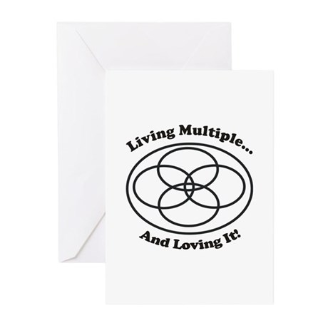 Living Multiple Loving It! Greeting Cards (Pk of 1