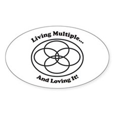 Living Multiple Loving It! Decal