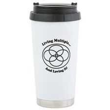 Living Multiple Loving It! Travel Mug