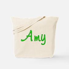 Amy Glitter Gel Tote Bag