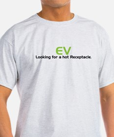Electric Vehicle Hot Receptacle T-Shirt