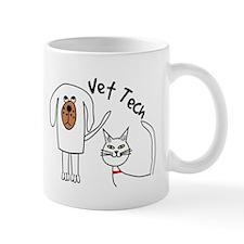 Vet Tech dog and cat.PNG Mug