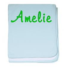 Amelie Glitter Gel baby blanket
