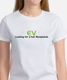 Electric Vehicle Hot Receptacle Women's T-Shirt