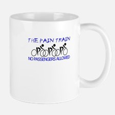 The Pain Train (blue) Mug