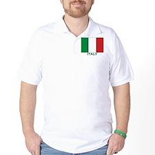 Italy Flag Merchandise T-Shirt