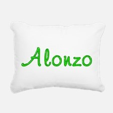 Alonzo Glitter Gel Rectangular Canvas Pillow
