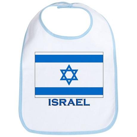 Flag of Israel Bib