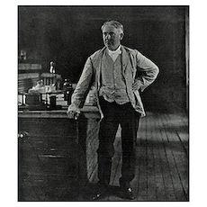 Thomas Edison, US inventor Poster