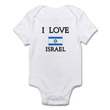 Flag of Israel Infant Bodysuit