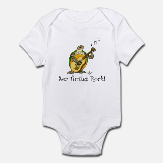 Sea Turtles Rock Infant Bodysuit