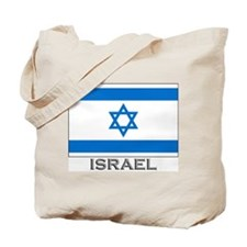 Israel Flag Gear Tote Bag