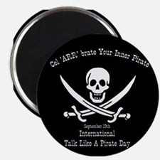 Talk Like A Pirate Magnet (10 pack)