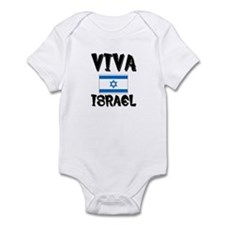 Viva Israel Infant Bodysuit