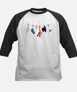 Snowman Clothing Kids Baseball Jersey