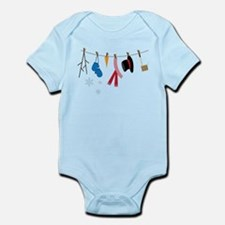 Snowman Clothing Infant Bodysuit