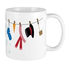 Snowman Clothing Mug