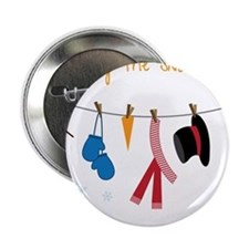 "Frosty The Snowman 2.25"" Button"