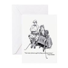 The worst advice in golf is.. Greeting Cards (Pack