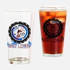 Scuba Happy Hour Drinking Glass