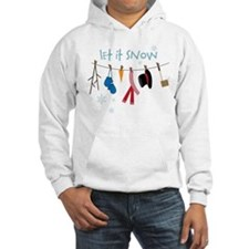 Let It Snow Jumper Hoody