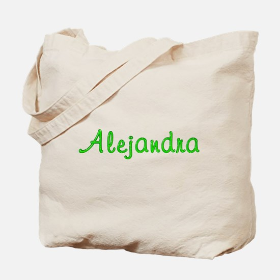 Alejandra Glitter Gel Tote Bag