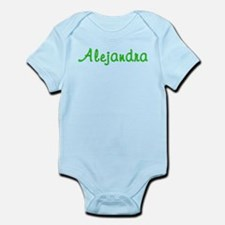 Alejandra Glitter Gel Infant Bodysuit
