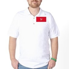 The Isle Of Man Flag Picture T-Shirt