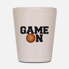 Game On Basketball Shot Glass