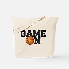Game On Basketball Tote Bag