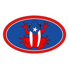 Puerto Rico - PR - Coqui Decal